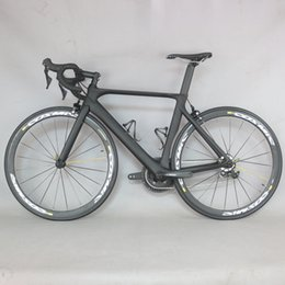 Complete road bike biCyCle online shopping - Carbon road bike FM268 Aero design full Carbon Road Bike Complete Bicycle Carbon Cycling Road Bike with R8000 Speed Grou