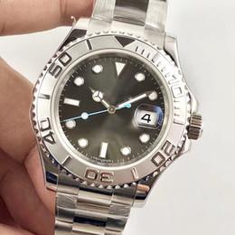 ar fábrica de luxo melhores relógios de pulso yachtmaster 116622 40 milímetros suíços comer 3135 movimento azul luminescentes mecânicos automáticos 904L homens de aço wa em Promoção