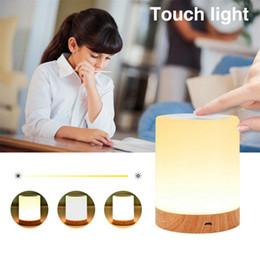 $enCountryForm.capitalKeyWord NZ - Rechargeble Led Touch Night Light Innovative Little Nightlight Table Bedside Nursing Lamp 6 Colors Light adjustable Night Lamp