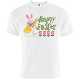 "$enCountryForm.capitalKeyWord UK - Mens ""Happy Easter"" Eggs Bunny Hunt T-Shirt - Chocolate, Lent, Celebration,Gift"