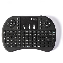 htpc remote controls Australia - Mini i8 2.4G Air Mouse Wireless Mini Keyboard with Touchpad Remote Control Gamepad for Media Player Android TV Box HTPC MXQ Pro M8S X96
