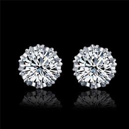 $enCountryForm.capitalKeyWord Australia - 2019 fashion crown earrings south Korean version of Korean accessories wholesale retro jewelry earrings zircon earrings
