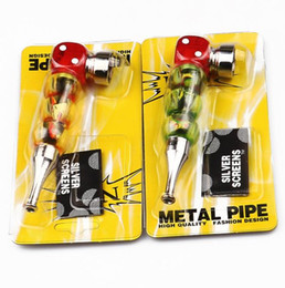 Metal Dice Australia - New 100MM Dice Metal Pipe Individual Creativity Delicate Portable with a Pack of Pipe Filter