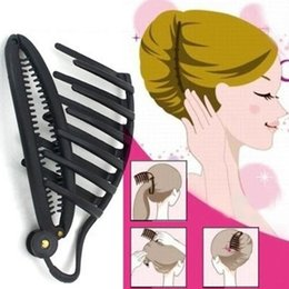 $enCountryForm.capitalKeyWord Australia - Pro Hair Clip Styling Tools Office Lady Braided Hair Tools Device Flaxen Salon Accessories for Women Girls