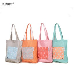 $enCountryForm.capitalKeyWord Australia - New Flower Foldable tote Shopping Bags Reusable Folding Grocery Nylon eco tote Bag handbag