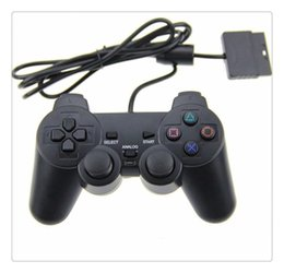 $enCountryForm.capitalKeyWord Australia - For Game Console Playstation 2 Wired Controller Para for PS2 Joystick Gamepad For Black High Quality