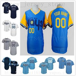 4a40bbc85ed Jerseys soccer names online shopping - Custom TampaBayRays New Men Womens  Youth Jerseys White Blue Grey