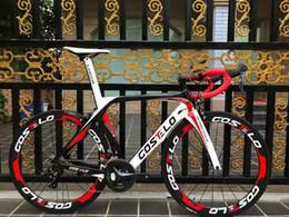 Großhandel HEISSER VERKAUF! Vollcarbon Costelo lucca Straßenfahrradcarbonfaser-Fahrrad DIY komplette Rennrad completo bicicletta bicicleta completa