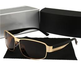 $enCountryForm.capitalKeyWord Australia - Designer Brand Silver Black High Quality Men Women Retro UV Protection Sunglasses Unisex Eyewear Metal & Alloy Frame Glasses Polarized UV400