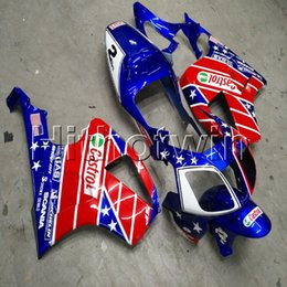 $enCountryForm.capitalKeyWord Australia - Botls+Gifts red blue star motorcycle cowl for HONDA RC51 00 01 02 03 04 05 VTR1000SP1 2000-2006 ABS Fairing hull