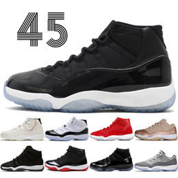 cork shoes men Canada - 11 11s Cap and Gown Prom Night Mens Basketball Shoes Gym Red Bred PRM Heiress Barons Concord Cool Grey men Sports Shoes trainers women