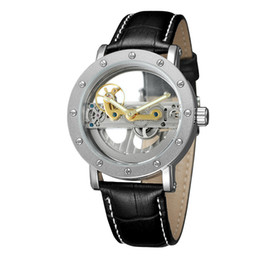 $enCountryForm.capitalKeyWord NZ - Men's Original Hollow Dial watch Luxury Swiss Men Automatic Mechanical Tourbillon Transparent bottom Dive stainless steel Brands watches
