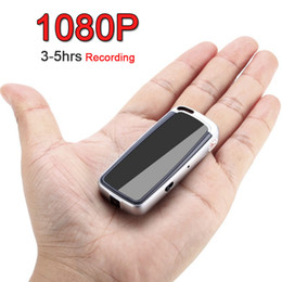 mini voice recorders NZ - 1080P 720P HD 3-5hrs Micro Key Chain Digital Video Camera Camcorder Recorder Voice Audio Video Recording Noise Canceling Mini DV