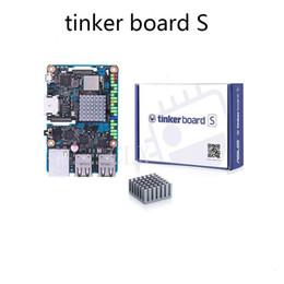 Vente en gros Livraison gratuite Carte ASUS SBC Tinker S CPU RK3288 SoC 1,8 GHz quadricœur, GPU 600 MHz Mali-T764, 2 Go LPDDR3 16 Go eMMC TinkerboardS