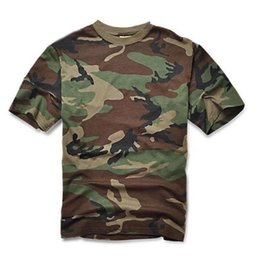 Mens Army Police T Shirt Tattico Militare Camouflage Cargo Tops Airborne Marine Corps Tees Swat Camo manica corta Estate Cs C19041303