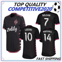 c0d782332 19 20 thailand quality Seattle Sounders jersey DEMPSEY MARTINS 2019 2020  away men shirt ALONSO LODEIRO TORRES football shirts