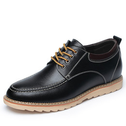 $enCountryForm.capitalKeyWord NZ - Man Shoes Leather Genuine Italian Elevator Shoes for Men Formal Dress Business Casual Leather Shoes High Quality Sneakers Sepatu Kulit Pria