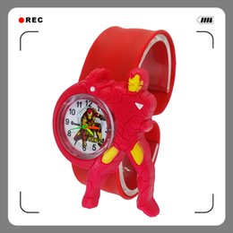 $enCountryForm.capitalKeyWord Australia - Fashion Cartoon Clock Men Boy Student iron Man watch kids Quartz wrist watches Child Boys Gift relogio infantil montre enfant