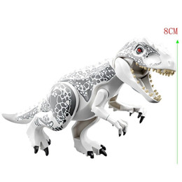 $enCountryForm.capitalKeyWord Australia - Legoings Jurassic Park Indominus Rex Diy Blocks Dinosaurs Tyrannosaurus Rex Tiny Models Building Block Toys For Children Legoed