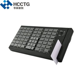 card programmable 2019 - High Quality Membrane 66 Keys Mini USB Fully POS System Programmable Keyboard with MSR Card Reader KB66M