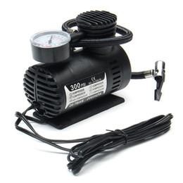 Portable Mini compresseur d'air du véhicule électrique pneus pompe 12V 300 gonfleur PSI en Solde