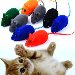 rat toys 2019 - New Little Mouse Toy Noise Sound Squeak Rat Playing Gift For Kitten Cat Play 6*3*2.5cm cheap rat toys