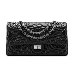 $enCountryForm.capitalKeyWord UK - Elegant2019 Chain Real Package Long Fund Single Shoulder Messenger Woman Small Bag Genuine Leather Sheepskin Embroidered Ma'am Envelope
