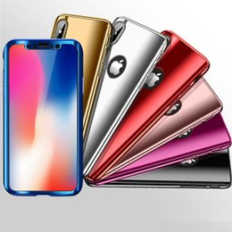 $enCountryForm.capitalKeyWord NZ - 360 Degree Plating Mirror cell phone Cases For iphone XS MAX XR X 8 7 6 plus Full Cover case for samsung S8 S9 S10 PLUS note 8 9 luxury