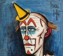 $enCountryForm.capitalKeyWord Australia - Bernard Buffet Clown High Quality Handcrafts  HD Print Abstract portrait Art Oil painting On canvas Multi sizes Options
