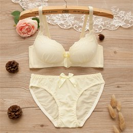 672afc7948c Teenage Girls Bras Australia - Japanese Kawaii Adjustable Bras set for Girls  Teenage Underwear Set Cotton
