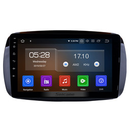mercedes gps radio UK - Android 9.0 9 Inch Head Unit GPS Car Radio for 2015 2016 Mercedes-Benz SMART with AUX USB WiFi support car dvd Steering Wheel Control 1080P
