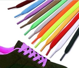 $enCountryForm.capitalKeyWord NZ - Colourful Shoelaces Shoe Laces for Canvas Sneakers Sport Shoes Long Rope Laces 8mm Wide Long 100CM  120CM