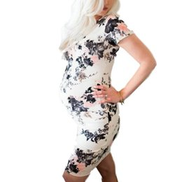 $enCountryForm.capitalKeyWord UK - Europe and the United States sexy wild hot stretch print short-sleeved loose maternity dress