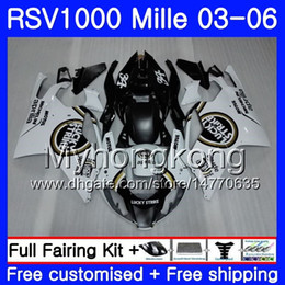 $enCountryForm.capitalKeyWord NZ - Body Lucky Strike For Aprilia RSV 1000R 1000 RV60 Mille RSV1000 R RR 03 04 05 06 316HM.22 RSV1000RR RSV1000R 2003 2004 2005 2006 Fairings