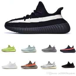 discount kanye west shoes UK - Sales 2019 New Static 1233 V2 cheap Belgua 2.0 Semi Frozen Yellow Shoes Discount Kanye West Men Women Brand Trainer Running Shoes M01350301