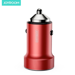 C Cars online shopping - JOYROOM Car Charger C A01 A W Fast Car Charging Adapter Dual USB Car Charger For Iphone Samsung S20