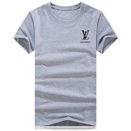 61eb20d8c Vestuário superior on-line-Camisas Dos Homens de Verão de Luxo Da Marca dos