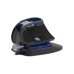 $enCountryForm.capitalKeyWord Australia - Delux M618X Wired Ergonomic Vertical Mouse Gaming Computer 6D Mice 1200 1600 3200 DPI USB RGB Light Laser Mouse for Laptop PC