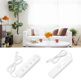Wholesale WiFi Smart Power Strip Surge Protector with Outlets Remote Control Save Energy Smart Switch Timer Works with Alexa