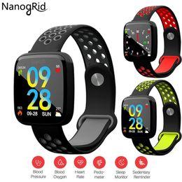 $enCountryForm.capitalKeyWord Australia - F15 Smart Watch IP67 Waterproof Fitness Bracelet Heart Rate Blood Pressure Blood Oxygen Wristband Man Woman For Android IOS