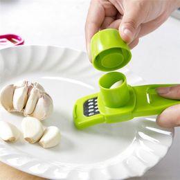 Planer Cutter Australia - Household Grinder Ginger Garlic Multi Functional Grinding Grater Planer Slicer Cutter Cooking Tool Utensils Kitchen Accessories