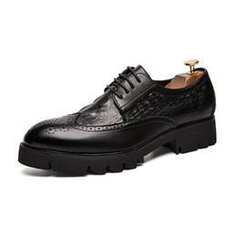 $enCountryForm.capitalKeyWord Australia - New Design Oxford Shoes for Men Brogues Dress Shoes Male Genuine Cow Leather Shoes Lace Up Black Business Formal Shoe SH778568