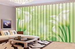 Price Kitchens Australia - Curtain Bedroom Price Dreamy delicate calla Decoration Indoor Living Room Bedroom Kitchen Window Blackout Curtain