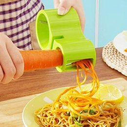 $enCountryForm.capitalKeyWord Australia - Multifunction Spiral Vegetable Slicers Double Grater Premium Noodle Cutter Zucchini Pasta Spaghetti Maker Knife Sharpener HK0316
