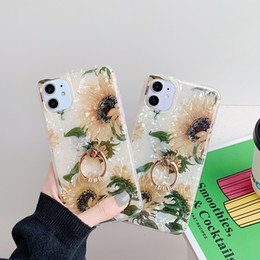floral iphone 11 case Canada - Art Floral Daisy Phone Case For iPhone 11 X XR XS Max 6S 7 8 7Plus 5 Fashion Daisy Flower Case Soft TPU Back Cases Cover