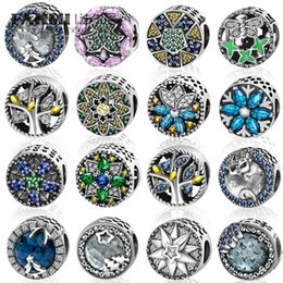 Glasses Production Australia - FAHMI 100% 925 Sterling Silver Original Beads Snowflake Stars Butterfly Flowers Christmas Tree Charm Quality Jewelry Production Fit PANDORAS
