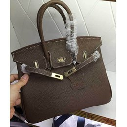 $enCountryForm.capitalKeyWord Australia - Elegant2019 Package 25cm Litchi Grain Long Straps Genuine Leather Woman Baotou Layer Cowhide Diagonal Women's Bag