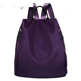 ef8bbf77b39c good quality New 2019 Women Backpack Waterproof Nylon 5 Colors Lady Women s  Backpacks Female Casual Casual Bag Bags Mochila Feminina