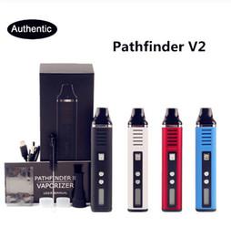 $enCountryForm.capitalKeyWord Australia - Pathfinder V2 Dry Herb Vaporizer Kit Electronic Cigarette 2200mAh Temp Control Pathfinder 2 II Herbal Wax Vape Pen Mod