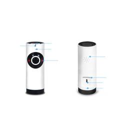 Onvif ip mini cameras online shopping - 1 MP Wirelees Smart Camera plug and play Mini Wifi fisheye degree panoramic IP Camera P2P Onvif Indoor Moblie remote view